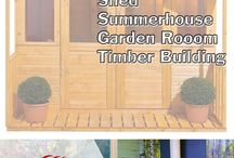 sheds and garden rooms