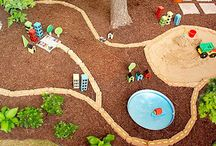 Outdoor play / Ideas for fun outside and for interesting playscapes! / by Amber Stanifer