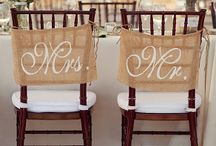 Wedding chaircovers