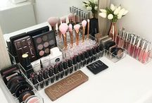 Make-up and desks
