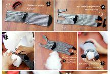 šití ponožkáči
