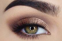 Bronze makeup