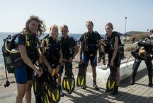 Discover scuba diving, try dive Tenerife / Discover scuba diving, try dives in the south of Tenerife, Las Galletas, El Fraile, Abades, Playa Las Americas