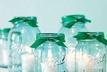 I heart mason jars
