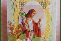 kartki z religijnym motywem