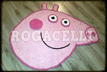 peppa carpet crochet