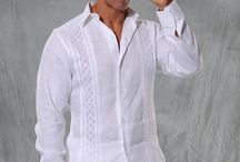 "Party Habana Guayaberas / Quality and comfort with a memorable design style for your big day! hight quality Linen. Class, comfort and craftsmanship means you wear nothing but the best. This is a ""Formal"" Guayabera Shirt, soft and elegant. Exquisite design for a destination  wedding, events and festivities.  These Mexican wedding shirts are long sleeves. Cufflink Allowed."