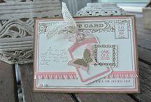 Postage Duo / Sammlerstücke / Post Card / Drei Stempelsets
