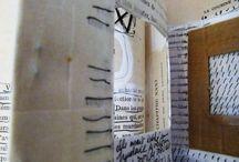 Livre effacé / ce livre unique est parti d'un livre ancien ' la cousine Bette' de Balzac .. un long travail d'éffacement et de création sur chaque page : 4 mois de travail! il sera présenté à Namur en fin d'année 2016...