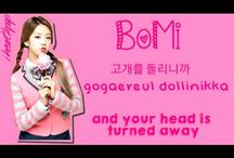 A Pink / Bacheca dedicata al gruppo K-Pop femminile, A Pink.