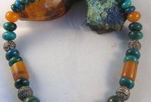 tribal, rustic jewelry (tribal inspiration)