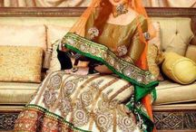 T.V pe Breaking News hae re Mera Ghaghra / The embellished Indian dresses to make you drool...<3