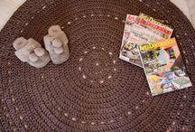 patron alfombra trapillon