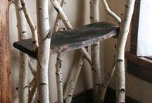 dřevěné pruty