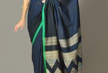 blue and green border just parfect .love this pallu.