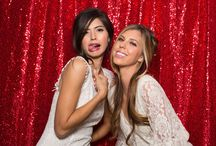 Photo Booth Backdrops / Some of our favourite Photo Booth backdrops