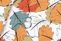Herbst - Stoffe / Hier eine Auswahl an schönsten Herbststoffen, die wir für www.stoff.love umsetzen dürfen.