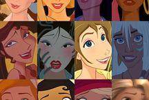 ♡ disney princesses only ♡