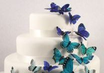 Blue Wedding Theme / Gorgeous blue themed items for your wedding.