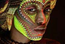 African tribal makeup