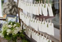 Escort Cards & Table Numbers