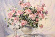 Розы и цветы