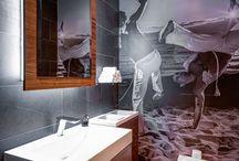 Custom Murals for Restaurants and Retail / Custom wall mural projects for restaurant and retail spaces