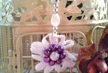 colliers, sautoirs ras de cou par chely's création alittlemarket.com / collier sautoirs ras de cou fait main