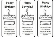 birthdays / by Andrea McCarty