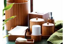 Bathroom - Master / I want to decorate my bathroom in a spa Zen feel with white linens and bamboo elements!