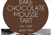 low carb choc mousse