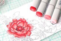 Coloring Mediums