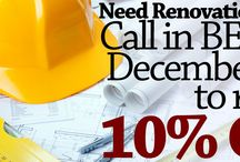 Special Offers for Home Renovations
