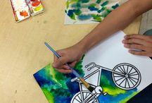 Bicicle minimal draw