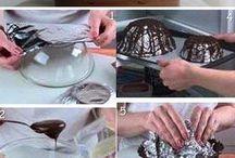 ozdoby z čokolady