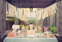 Garden Party Brunch Inspiration / Garden Party Brunch Inspiration Board by itsybelle / by Christy of Itsy Belle