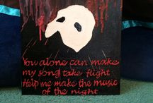 phantom of the opera crafts / by Katie Fourez