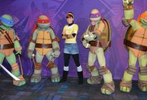 """Teenage Mutant Ninja Turtle """"Summer of Shell"""", Nickelodeon Suites / Summer 2014 is the """"Summer of Shell"""" at Nickelodeon Suites Resort! We interviewed the original voice actors, and met April O'Neil and the Teenage Mutant Ninja Turtle characters."""