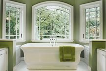 Bathroom / Powder room decor / by Cindy Bugg