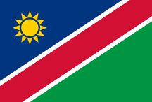✧ Namibia ✧ / Namibia, officially the Republic of Namibia (German: Republik Namibia; Afrikaans: Republiek van Namibië), and formerly German South-West Africa and then South West Africa, is a country in southern Africa whose western border is the Atlantic Ocean. Capital: Windhoek