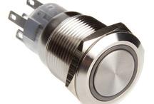 DimasTech® Push-Buttons Silver 19mm