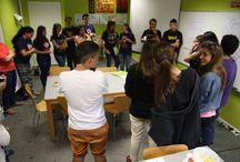 """Curso """"No hate"""" para Cibercorresponsales. / El 24 de junio de 2014 un grupo de Cibercorresponsales del Centro de Información Juvenil """"La Salamandra"""" estuvimos en Madrid realizando un curso de formación para jóvenes activistas contra la intolerancia dentro de la campaña europea contra la intolerancia en Internet """"No Hate"""" http://www.nohate.es/. Gracias nuri10, coke y manuelasigu9 por participar."""