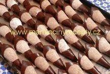 ořechové kornouty