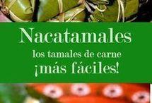 tamales y comida