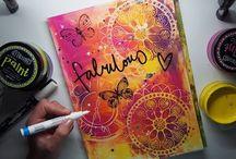 art journaling mixed media