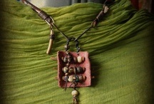 LEATHER ART / Leather art,  boho leather belts, leather and beads