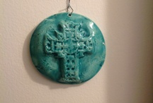 Art and Clay , so thankful to enjoy these two hobbies after I retired:)) / Clay and art I have made / by Sarah Ann Franks