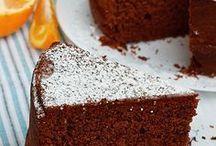 torta acqua cioccolato arancio no BURRO