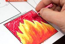 Art Class - Oil Pastels