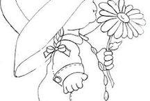 Desenhos para pano de fralda